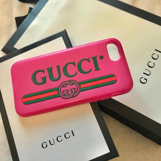 プラダ iphone8plus ケース 海外 | Gucci - GUCCI iPhoneケース 7 8の通販 by m.'s shop|グッチならラクマ