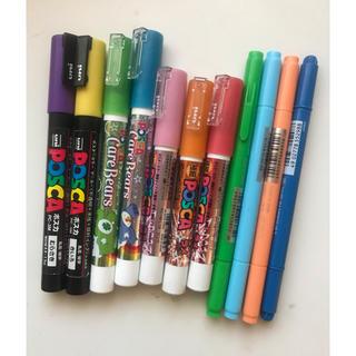 ミツビシエンピツ(三菱鉛筆)のポスカ Play color カラーペン 11本セット(ペン/マーカー)