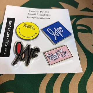 Starbucks Coffee - スターバックス スタバ ピンズ  バッチ バッジ ニコちゃん 小物 ピンバッジ