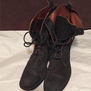 ニルアドミラリ(nil admirari)のニルアドミラリ   スウェードブーツ(ブーツ)