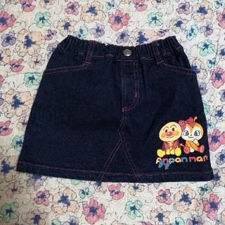 バンダイ(BANDAI)のアンパンマン デニムスカート 90(スカート)