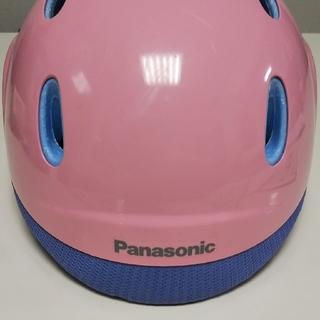 パナソニック(Panasonic)のおすずみ様専用、最終価格❕poppy 幼児用自転車ヘルメット(ヘルメット/シールド)