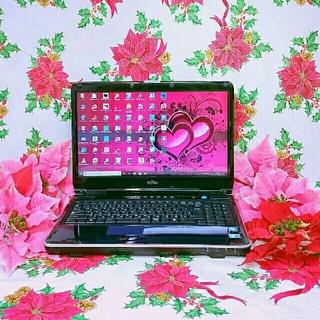 フジツウ(富士通)の極上品♥超爆速Corei5♥ブルーレイ♥新型Win10/大容量/オフィス2016(ノートPC)
