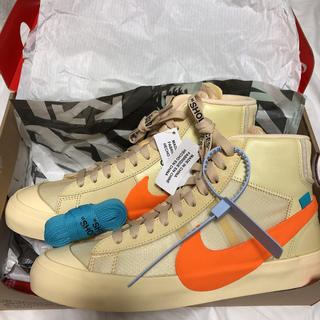 ナイキ(NIKE)の送料無料!Nike Blazer The Ten Off White 25cm(スニーカー)