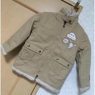 サンリオ(サンリオ)の☆Sanrio☆ウサハナ ボアジャケット サイズ110(ジャケット/上着)