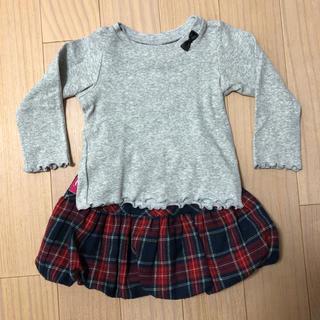 エフオーファクトリー(F.O.Factory)のTシャツ スカート セット 80(Tシャツ)
