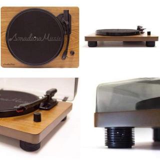 アマダナ(amadana)の新品 未開封  アマダナ ミュージック レコードプレーヤー(ポータブルプレーヤー)