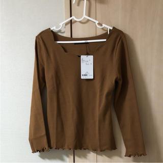 ブリスポイント(BLISS POINT)の新品タグ付き ブリスポイント トップス(Tシャツ(長袖/七分))