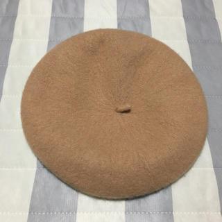 アースミュージックアンドエコロジー(earth music & ecology)のベレー帽 【キャメル】(ハンチング/ベレー帽)