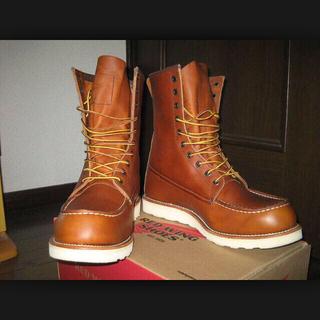 レッドウィング(REDWING)のRED wING 編み上げブーツ(ローファー/革靴)