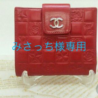 シャネル(CHANEL)のCHANEL二つ折り財布☆(財布)
