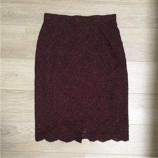 デミルクスビームス(Demi-Luxe BEAMS)のallureville☆スカート TOMORROWLAND ANAYI IENA(ひざ丈スカート)