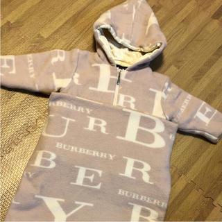 バーバリー(BURBERRY)のバーバリー フットマフ付き おくるみ コート(おくるみ/ブランケット)