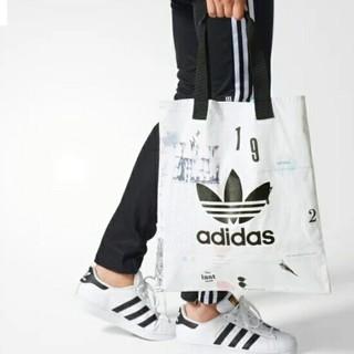 アディダス(adidas)の海外限定 アディダス トートバッグ エコバッグ adidas キャンバスバッグ(トートバッグ)