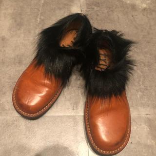 トリッペン(trippen)のトリッペン Trippen ファー付きブーツ 靴 shoes スリッポン型(ローファー/革靴)