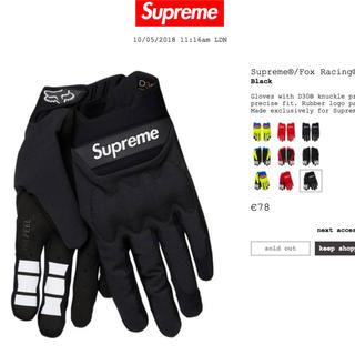 シュプリーム(Supreme)の[送料込] supreme fox gloves M / north box (その他)