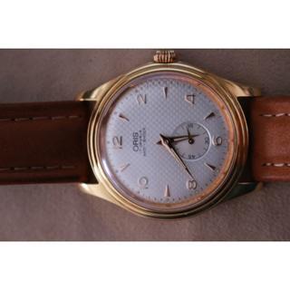 オリス(ORIS)の☆オリス17石セコンド60秒付の綺麗な腕時計Used☆(腕時計(アナログ))