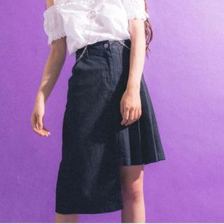 セブンパーセントモアピンク(7% more PINK)の7% more pink アシメスカート(ひざ丈スカート)