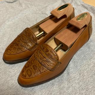 エティエンヌアイグナー(Etienne Aigner's)のVintage イタリア製本革ローファー(ローファー/革靴)