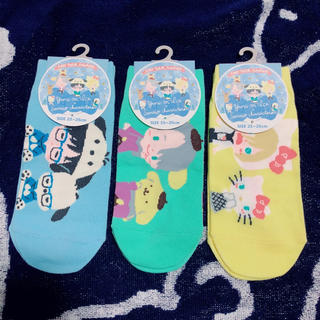 シマムラ(しまむら)のユーリ!!! on ICE 靴下 3足 セット☆(その他)