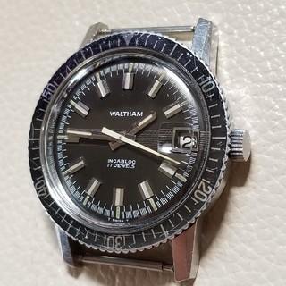 ウォルサム(Waltham)のオマケ付き 70's WALTHAM ウォルサム ダイバーズ(腕時計(アナログ))