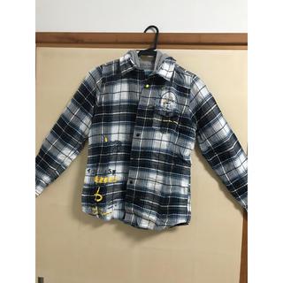 デシグアル(DESIGUAL)のデシグアル チェックパーカーシャツ キッズ(ジャケット/上着)