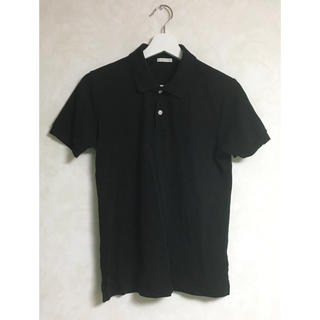 ジーユー(GU)のGUポロシャツ ブラック Sサイズ(その他)