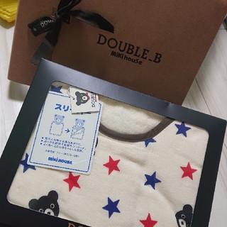 ダブルビー(DOUBLE.B)の新品 スリーパー double_b miki house ベビー(タオルケット)