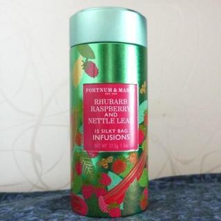 【英国フォートナム&メイソン購入】 ルバーブ・ラズベリーのハーブティ(茶)