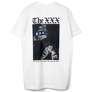 ジィヒステリックトリプルエックス(Thee Hysteric XXX)の新作 新品 GOD SELECTION XXX ホワイト XL (Tシャツ/カットソー(半袖/袖なし))