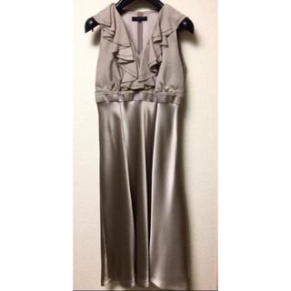バーバリー(BURBERRY)の一度のみの着用❤︎Burberry ブラックレーベル ワンピース ドレス(ロングワンピース/マキシワンピース)