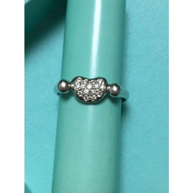 ティファニー プラチナダイヤリング レディースのアクセサリー(リング(指輪))の商品写真