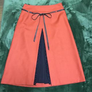 ジャスミン(ジャスミン)のスカート 秋冬用(ひざ丈スカート)