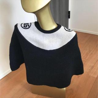 ジェレミースコット(JEREMY SCOTT)の【JEREMY SCOTT】record knit cape(ニット/セーター)