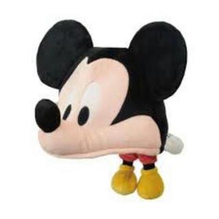 ディズニー(Disney)のミッキー ファンキャップ カチューシャ 美品(キャラクターグッズ)