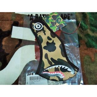 A BATHING APE - 込み APE 1ST CAMO SHARK MASK マスク BAPE