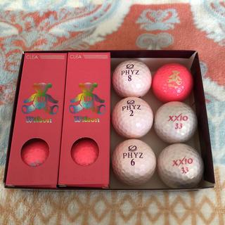 ウィルソン(wilson)のゴルフボール セット ピンク 12個(その他)