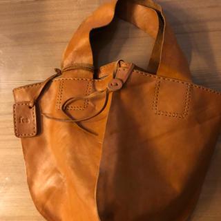 サクスニーイザック(SACSNY Y'SACCS)のfes ヌメ革のナチュラルなバッグ(トートバッグ)