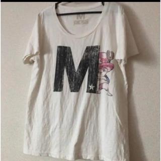 エム(M)のM エム ONE PIECEコラボTシャツ値下げ(Tシャツ/カットソー(半袖/袖なし))