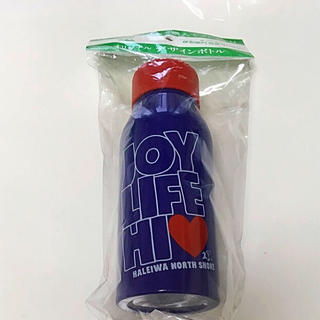 ハレイワ(HALEIWA)のハレイワ 水筒 オリジナル デザインボトル ネイビー(弁当用品)
