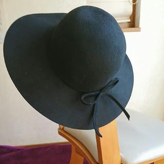 クーコ(COOCO)のCOOCO   フエルト帽子 未使用(ハット)