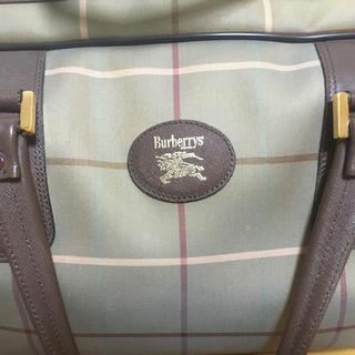 バーバリー(BURBERRY)の【数回使用品】バーバリー Burberrys ★ノバチェック柄★ボストンバッグ(ボストンバッグ)