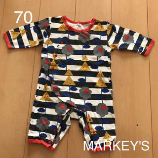 マーキーズ(MARKEY'S)のマーキーズ HOGAN ロンパース【70】(ロンパース)