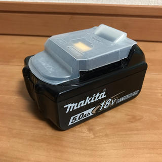 マキタ(Makita)のマキタのバッテリー18v 5.0Ah(バッテリー/充電器)