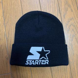 STARTER ニットキャップ(ニット帽/ビーニー)