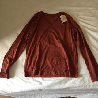 ムジルシリョウヒン(MUJI (無印良品))の無印良品 Vネック長袖Tシャツ(Tシャツ(長袖/七分))