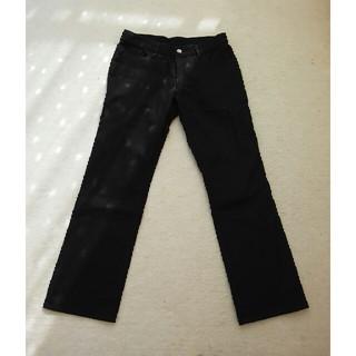 エムケーミッシェルクランオム(MK MICHEL KLEIN homme)の美品☆MICHEL KLEIN HOMME ズボン パンツ 黒 メンズ 48(その他)