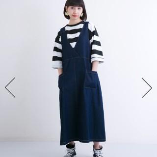 メルロー(merlot)のひろこ様専用メルローデニムジャンパースカート(ワンピース)