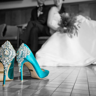 バッジェリーミシュカ パンプス 結婚式 靴 ブライダルシューズ(ハイヒール/パンプス)
