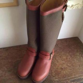 チペワ(CHIPPEWA)の★未使用 CHIPPEWA  ブーツ 22.5-23cm USA製(ブーツ)